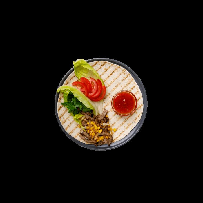 Фреш-ролл с телятиной и сладким чили