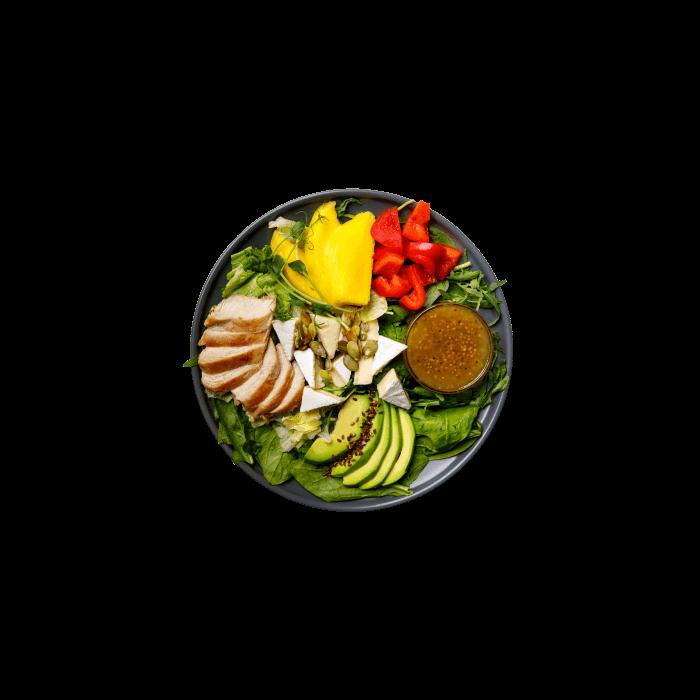 Чикен-манго салат