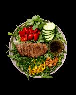 Стейк-салат с телятиной